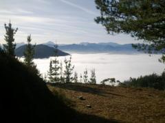Mar de nubes desde Casa Rural en Cangas de Onís